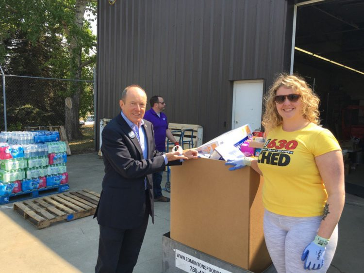 Corus Outlets Food Donations