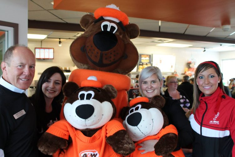 Burgers to Beat MS with Root Bear