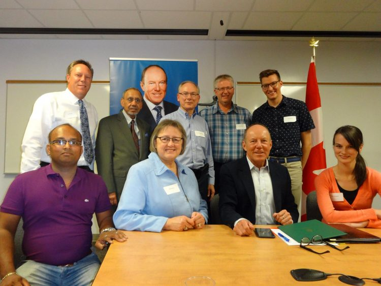 Economic Roundtable in Edmonton Griesbach
