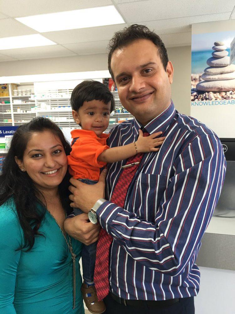 Valay, Ami and Aara