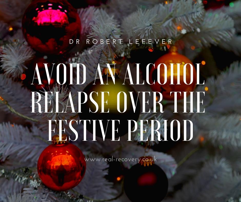 Avoid an alcohol relapse over the festive season