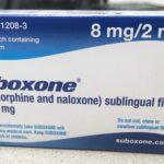 Box of Suboxone, treatment for addiction