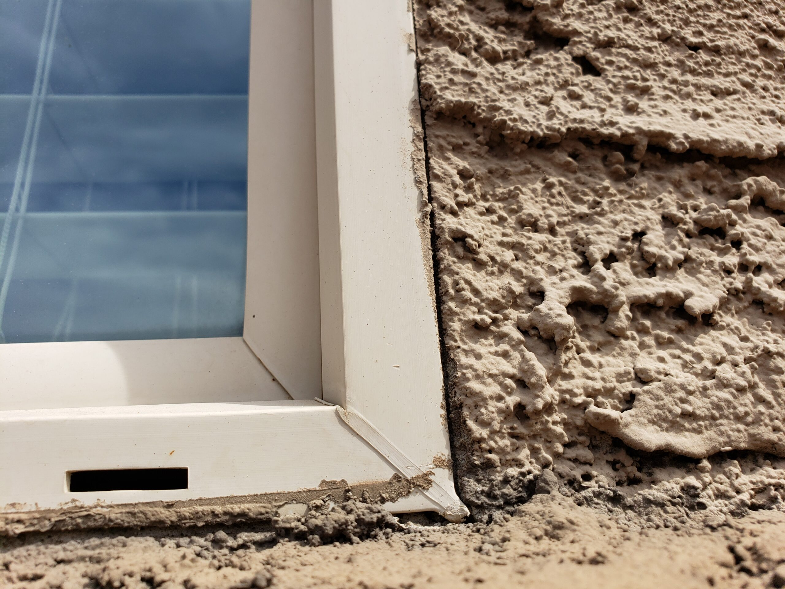 Caulk Any Stucco Gap At Windows To Prevent Leaks And Damage