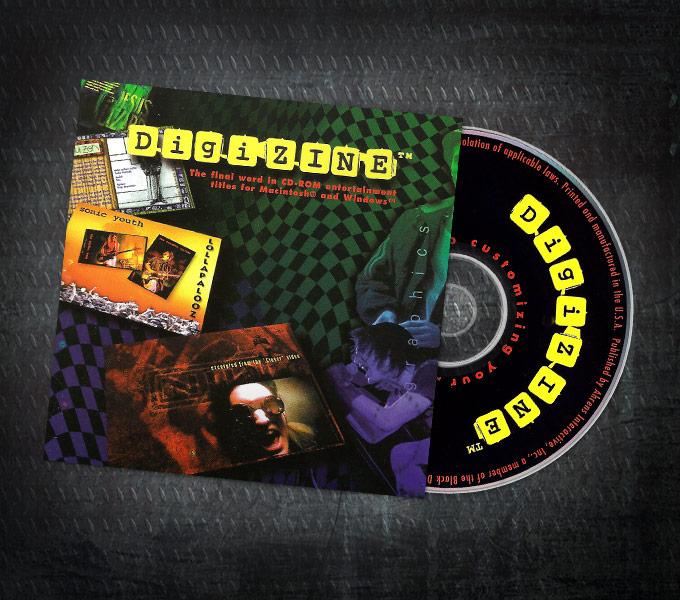 DigiZINE™ CD-ROM Entertainment Magazine
