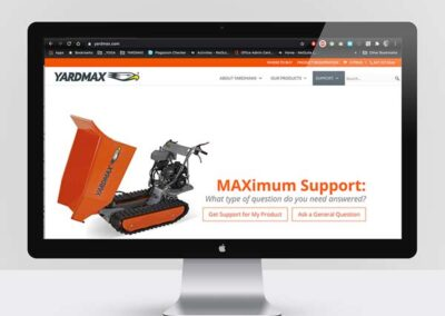 YARDMAX Brand and Creative Direction