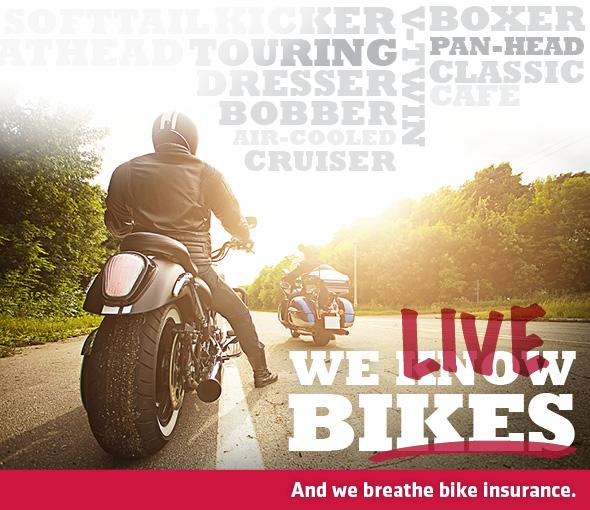 Markel Insurance – Motorcycles