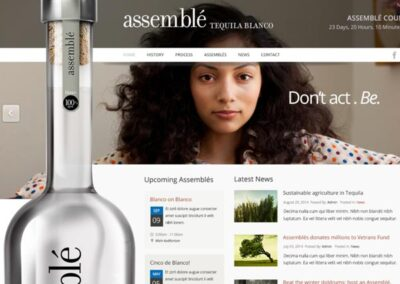 Assemble Tequila Brand Creation