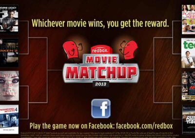 Redbox Facebook Game