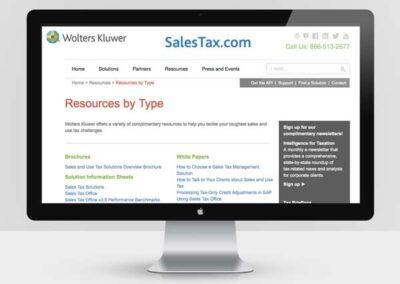 Salestax.com Redesign
