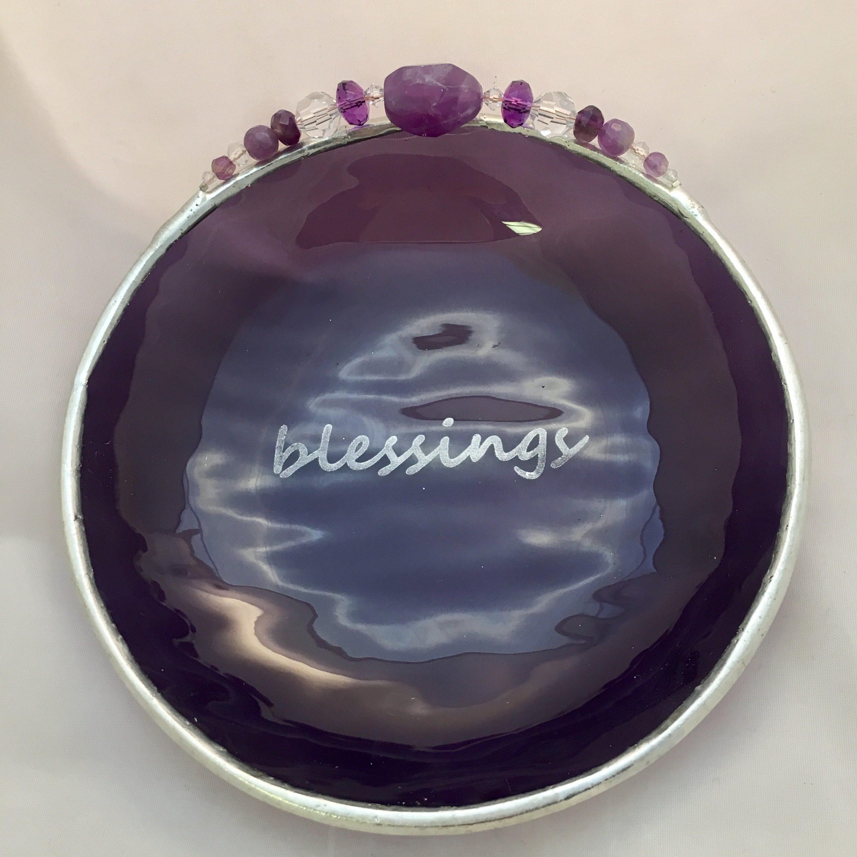 Engraved Purple