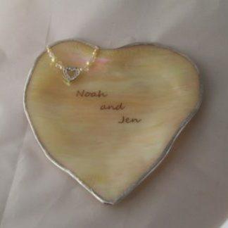 Engraved heart