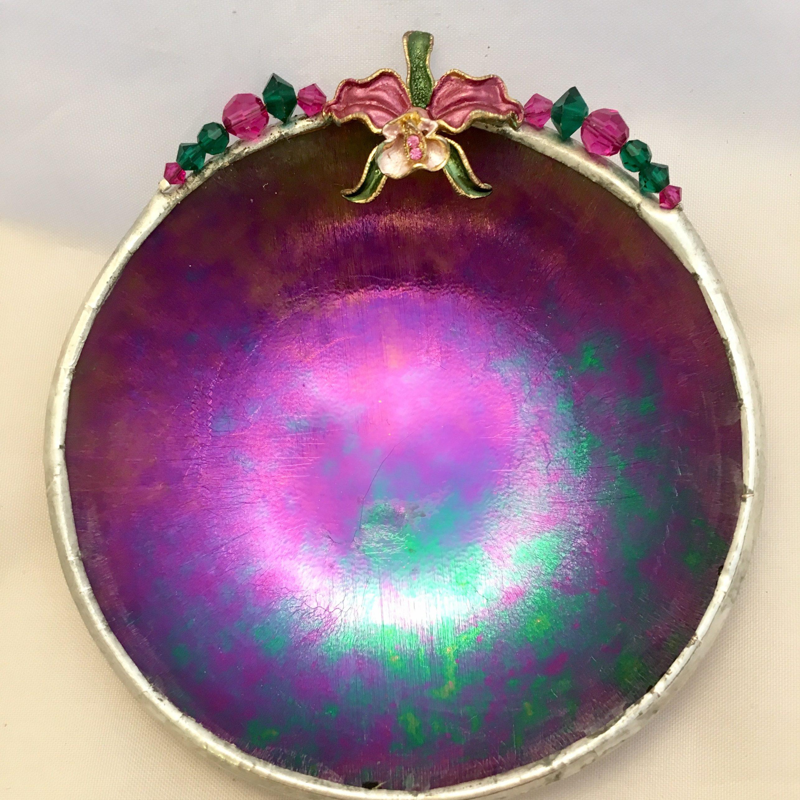 Purple iridescent Orchid