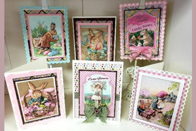 Authentique Cottontail Easter Cards