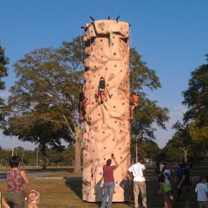 Rock Climbing, Rock Climbing Wall, Tiki Island Climbing Wall