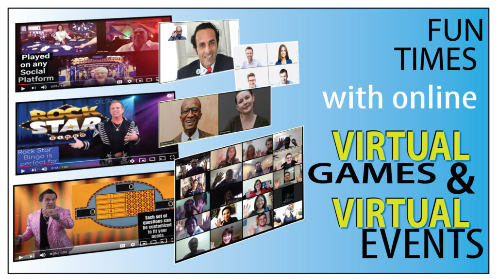 Games for Events Live Virtual Events
