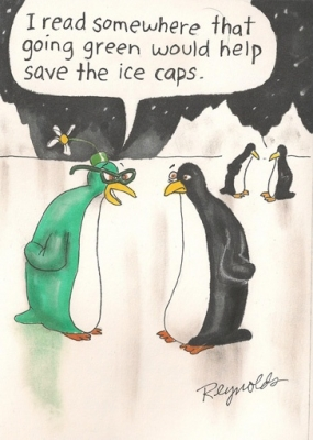 Going Green - Save the Ice Caps