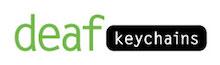 Deaf Keychains! Logo