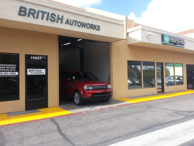 Land Rover Range Rover Sport Service in San Diego