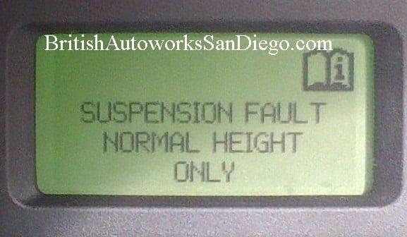 Suspension repairs by British Autoworks