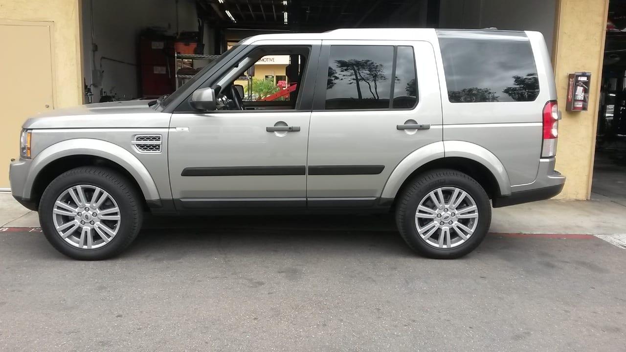 Land Rover Lift