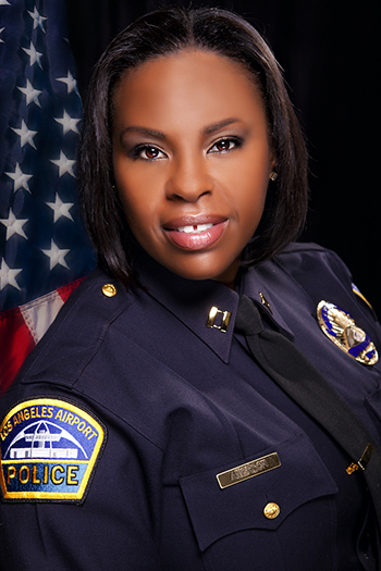 CAPTAIN LATASHA WELLS AMERSON APPOINTED ASSISTANT CHIEF, L.A. WORLD AIRPORTS POLICE DEPARTMENT