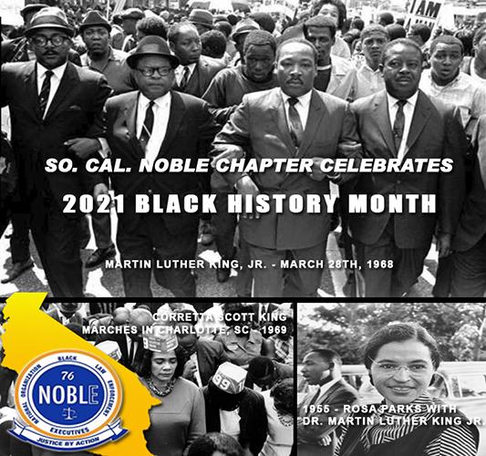 WE CELEBRATE BLACK HISTORY MONTH – 2021