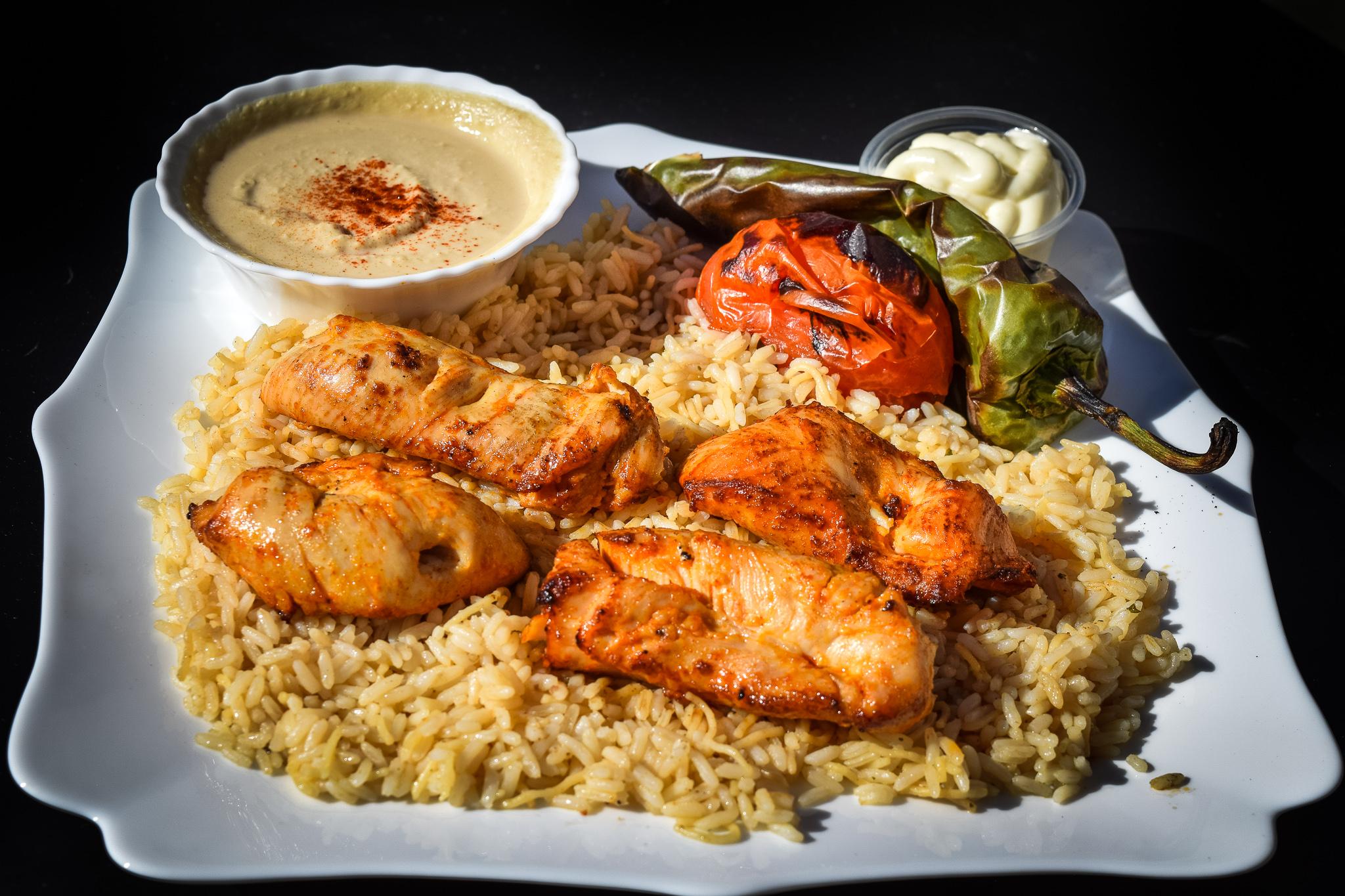 Chicken Kebab Plate