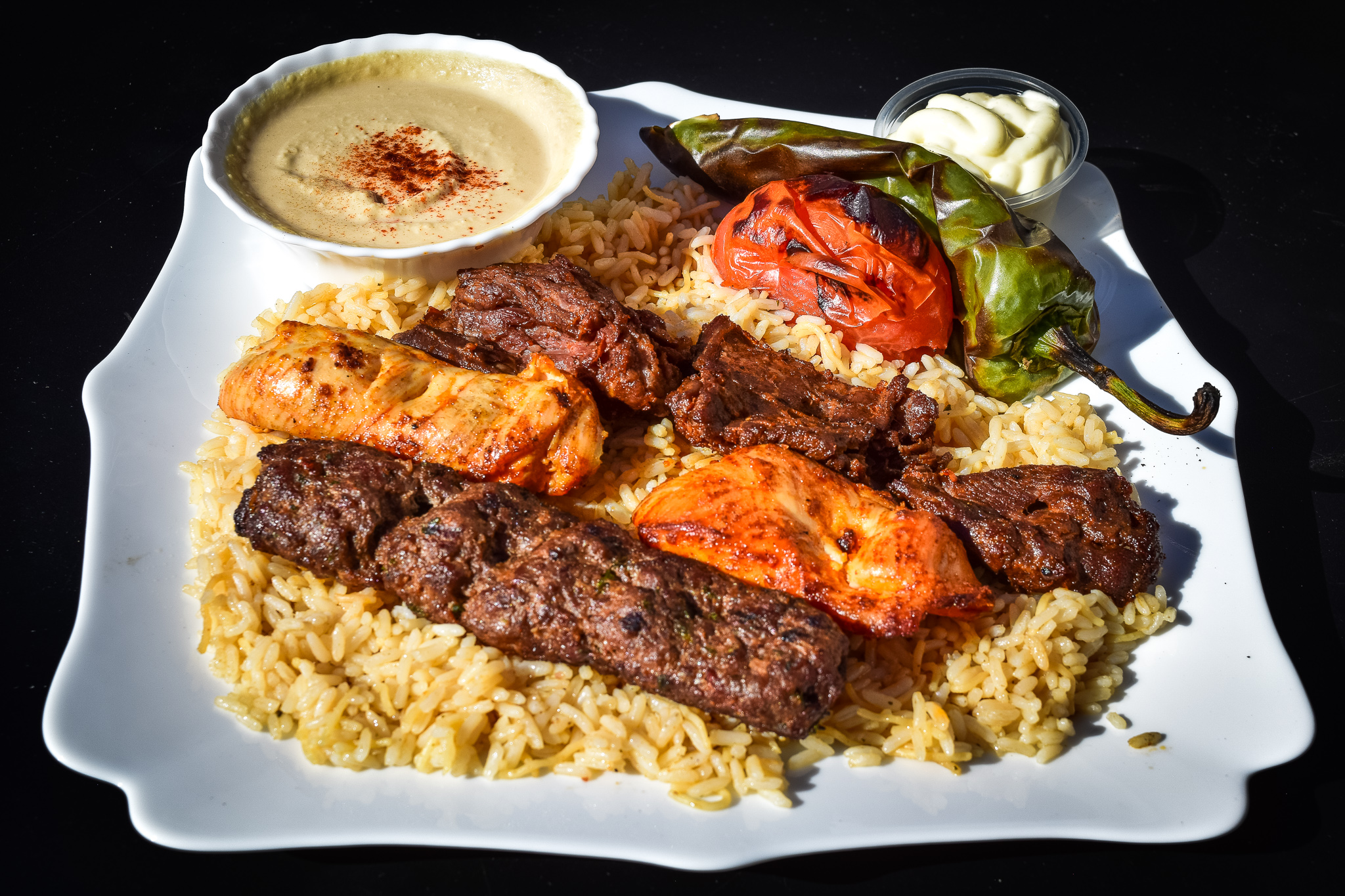 Green Cafe Combo Plate