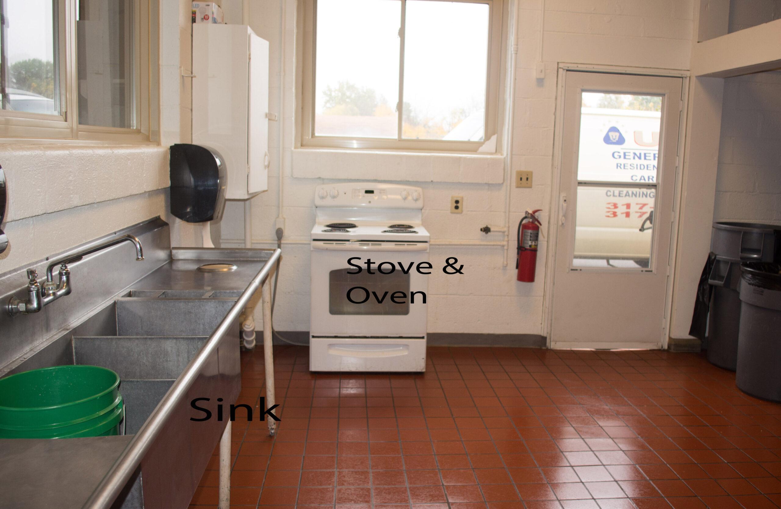 Stove kitchen