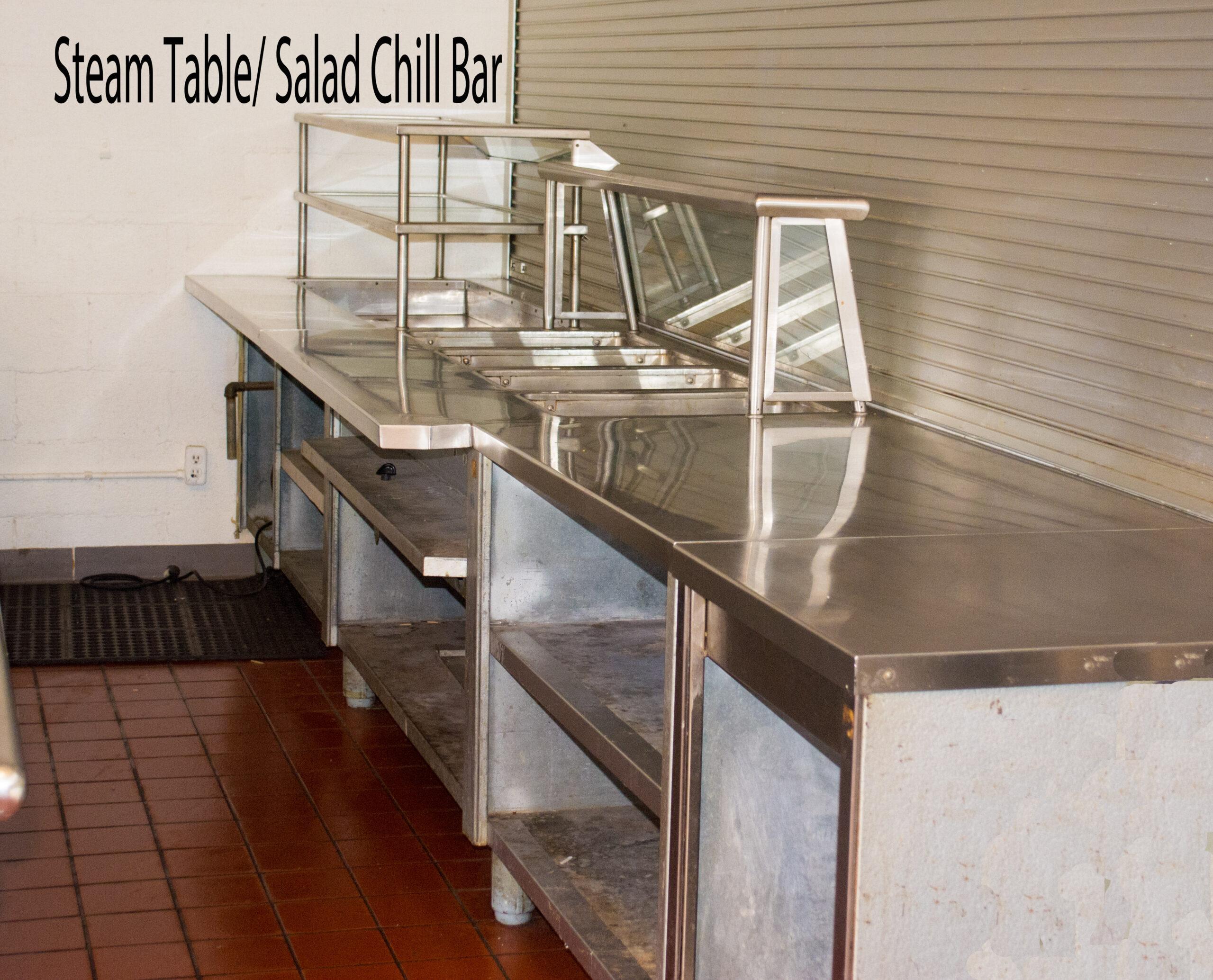 steam table salad bar