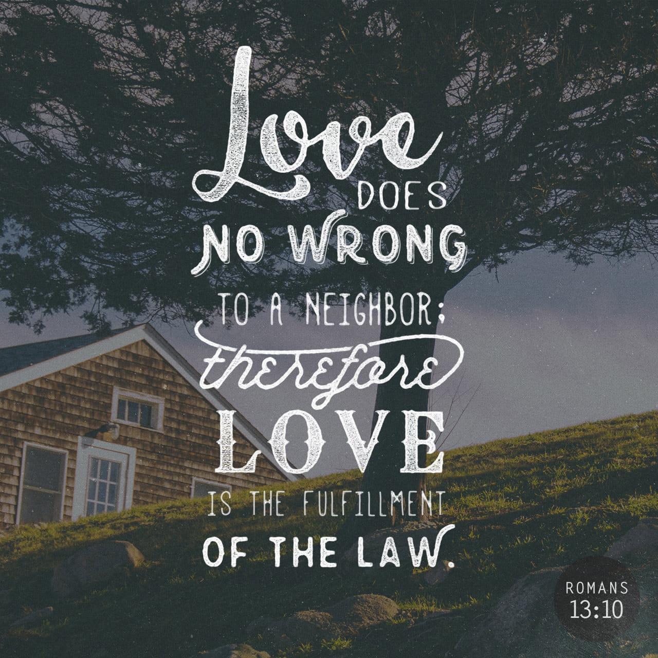Love Does No Wrong