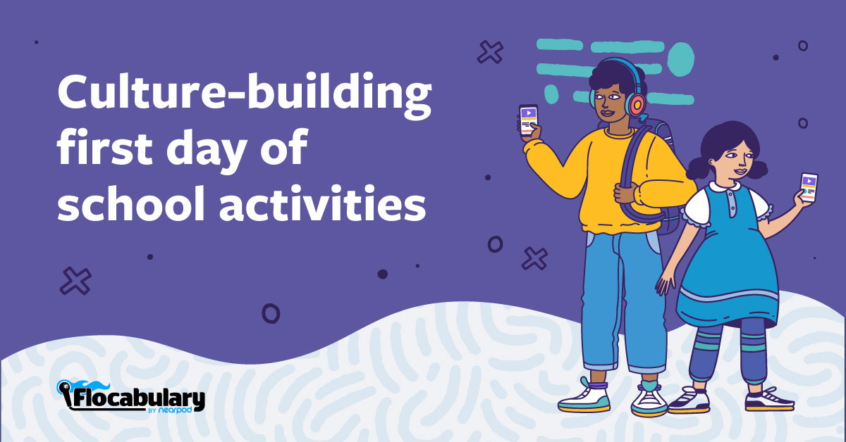 Culture Building First Day Of School Activities Twitter