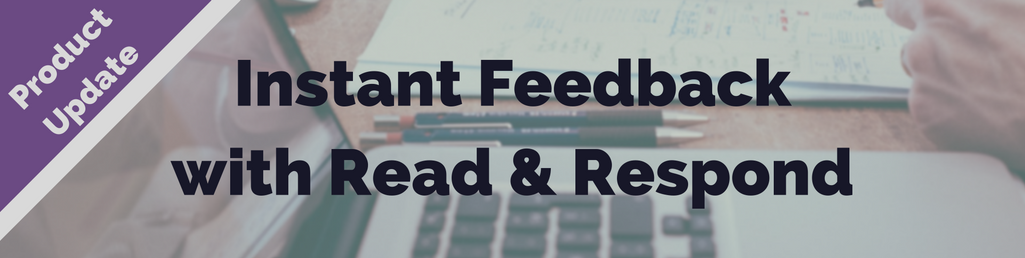 Read Respond Now Provides Instant Feedback With Answer Explanations