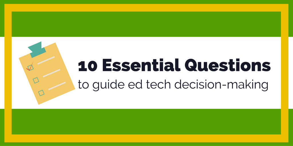 10 Essential Questions 2