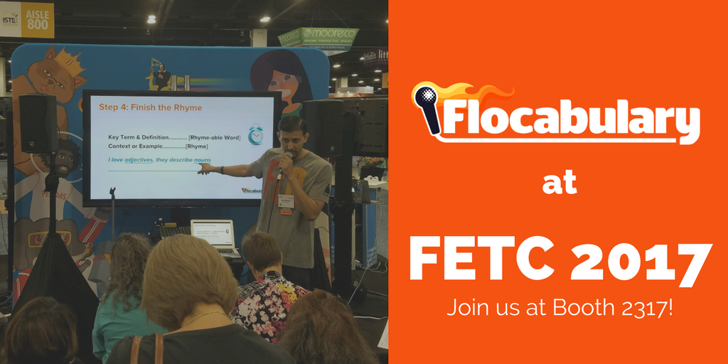 Flocabulary At FETC Conference 2017