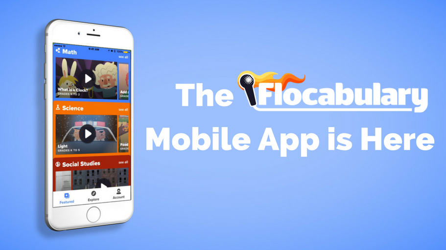 Flocabulary's Android And IOS Mobile App