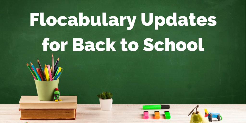 New Features For Flocabulary Back To School 2017