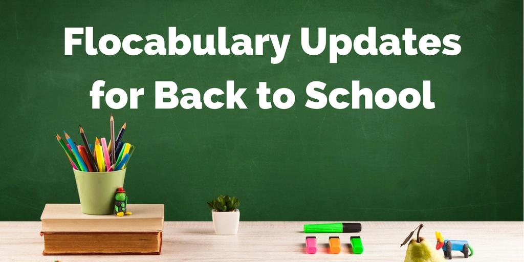 Explore Flocabulary's Back-to-School Updates
