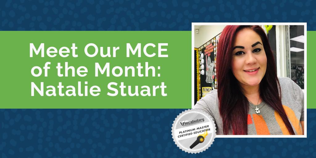 Natalie Stuart Mce Of The Month