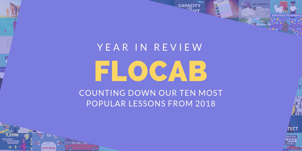 Flocab Year In Review: Most Popular Lessons Of 2018