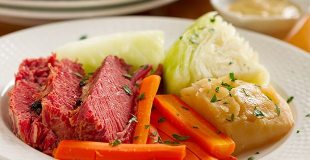 dinner, salt beef, cabbage, carrots, potatoes, Jiggs, newfoundland
