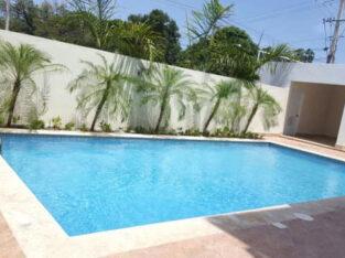 Rento apartamento amueblado con piscina