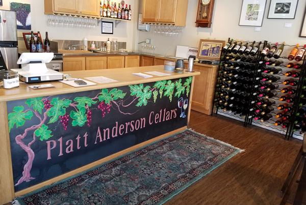 Platt Anderson Cellars Tasting Room/Wine Shop and Artisan Gallery
