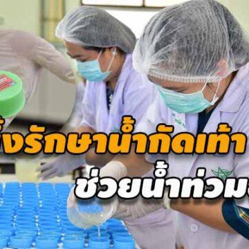 มมส เร่งผลิตขี้ผึ้งรักษาน้ำกัดเท้า 5,000 ตลับ ช่วยน้ำท่วมอุบล