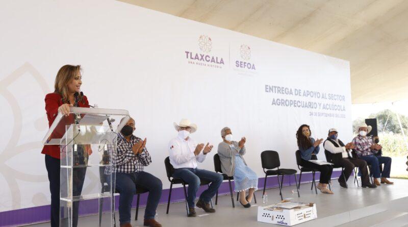Programas llegarán de manera directa al campo: Cuéllar Cisneros