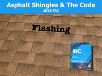 Asphalt Shingles & The Code