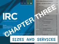 IRC 3 Sizes & Services