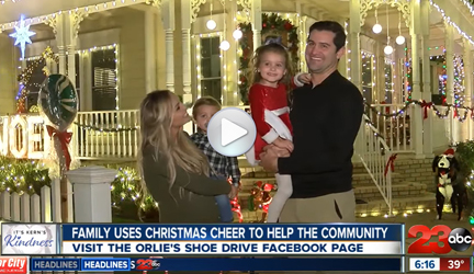 CRC Family in Bakersfield Uses Holiday Cheer to Build a Charity and Help the Community