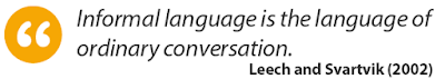 Informal language masterful virtual training