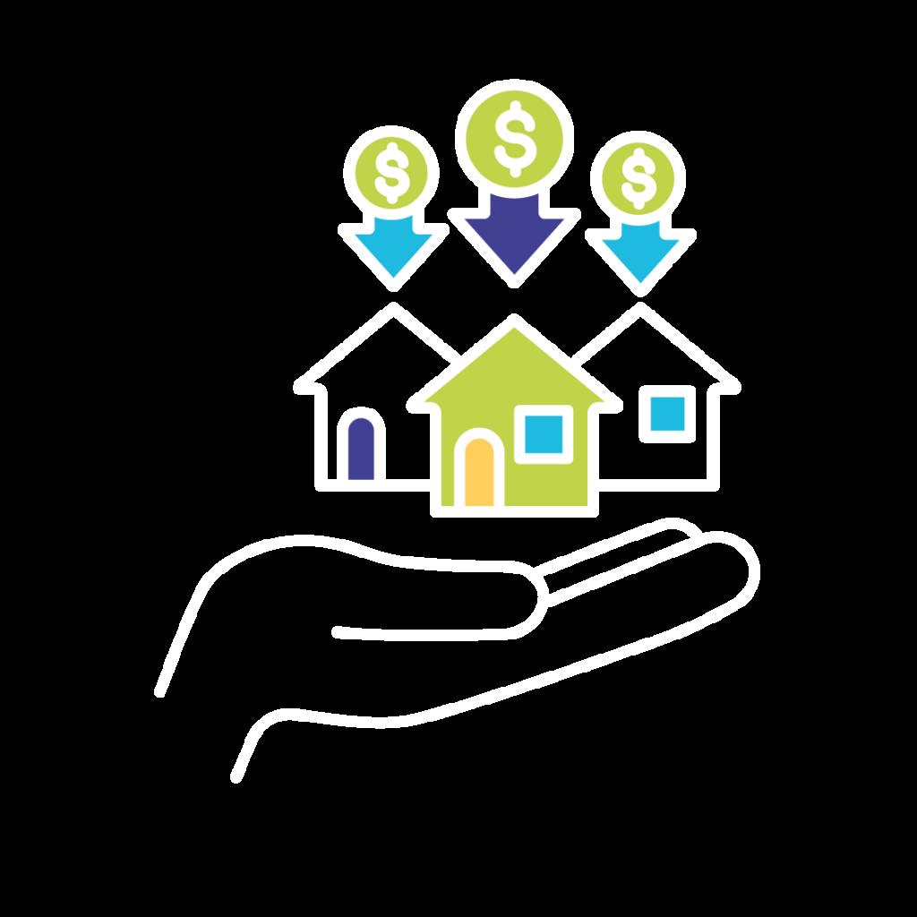 housing financial icon
